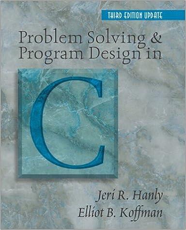 amazon com problem solving and program design in c 3rd edition