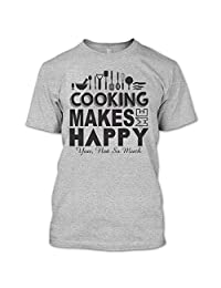 Cooking Makes Me Happy T Shirt, I Am A Coolest Chef T Shirt