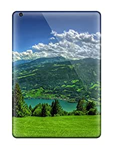 For Ipad Case, High Quality Green Mountain Meadow For Ipad Air Cover Cases