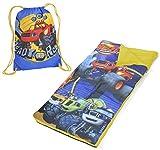 Nickelodeon Blaze & The Monster Machines Drawstring Bag with Sleeping Sack