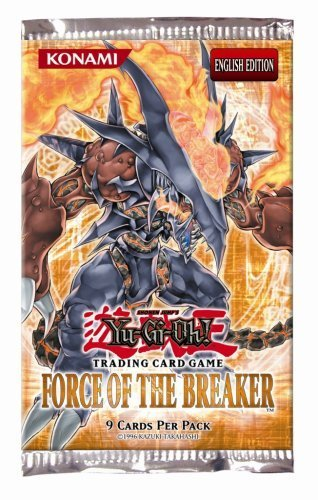 1st Edition Yu Gi Oh Booster - YuGiOh GX Card Game Force of the Breaker 1st Edition Booster Pack by Yu-Gi-Oh!