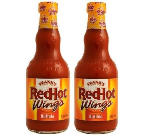 Frank's RedHot Wings: Original Buffalo Wing Sauce (Pack of 2) 12 oz Bottles by Frank's RedHot ()