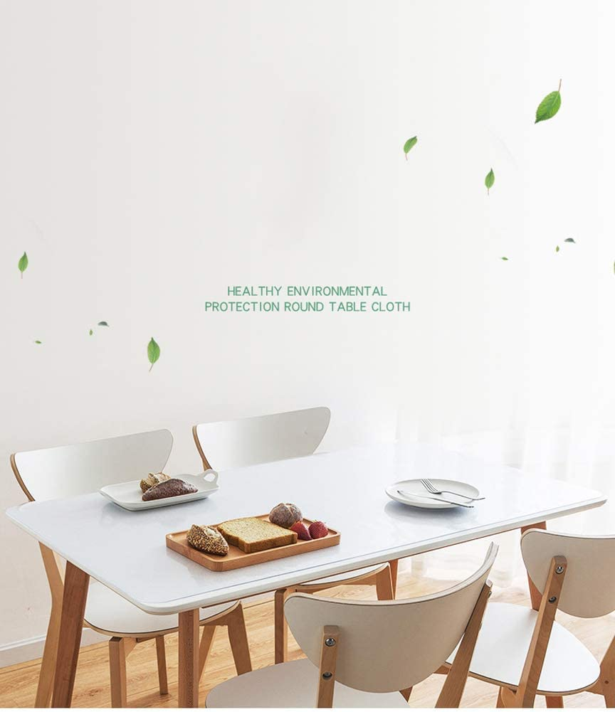 Grande copertura per tavolo in PVC trasparente lavabile multifunzione protezione per tavolo da scrivania impermeabile antiscivolo 80x40cm tappetino per PC portatile