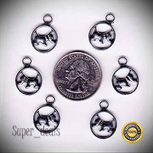 30 Metal Silver Tone...