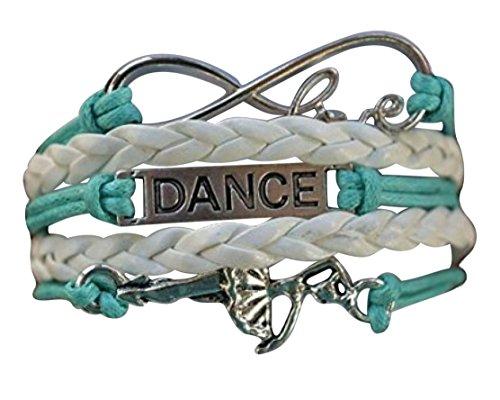 Infinity Collection Dance Bracelet- Dance Jewelry for Dance Recitals, Dancers and Dance Teams