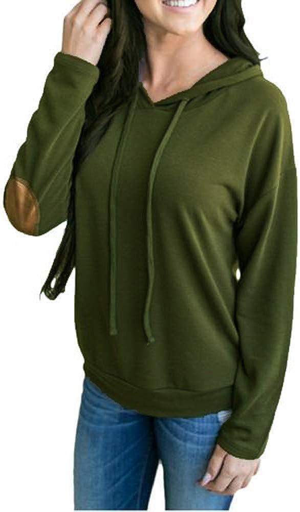 QueenHandsMen QueenHands Men Drawstring Novelty Hood Camouflage Pullover Tunic Sweatshirt