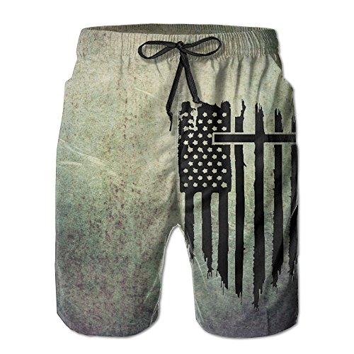- Christian Patriotic American Flag Cool Design Perspiration Pants