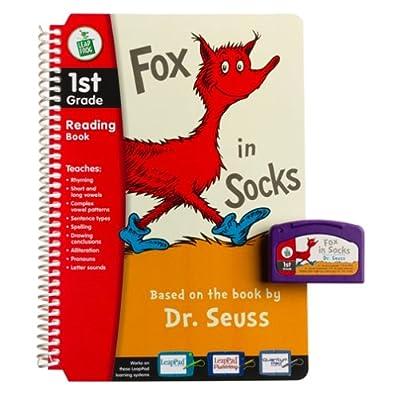 Dr. Seuss Fox in Socks 1st Grade LeapPad Book & Cartridge: Toys & Games