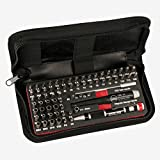 Wiha 75971 Master Tech Micro Bit Set with Travel Case, 68-Piece