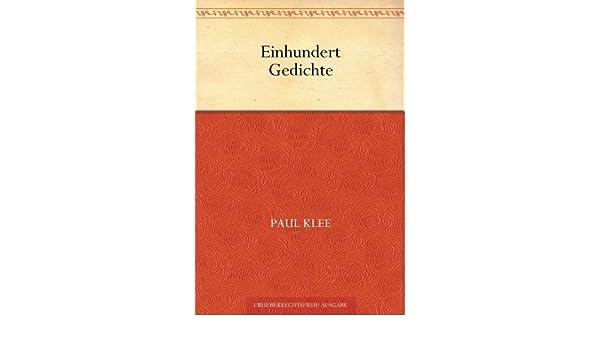 Amazoncom Einhundert Gedichte German Edition Ebook Paul