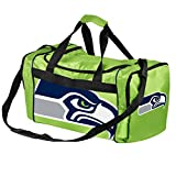 Seattle Seahawks Lime Green Core Duffel Gym Bag