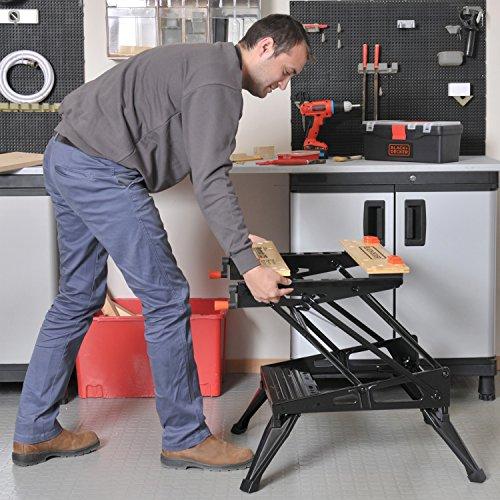 028873792259 - Black & Decker Workmate 225 450 lb. Capacity Portable Work Bench carousel main 5