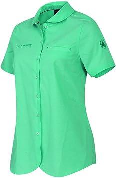 Mammut Mujer Exterior Camisa, Color Verde Menta, tamaño Small ...