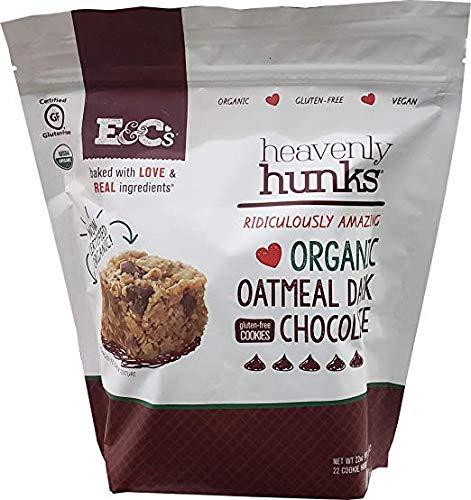 Heavenly Hunks Organic Dark Chocolate Oatmeal 22 Oz (Pack of 2)