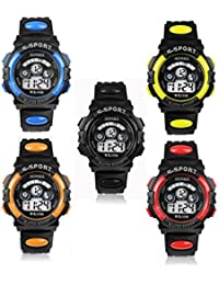 S-Sport Kid's Teen's Digital LED Water Resistant Watch....