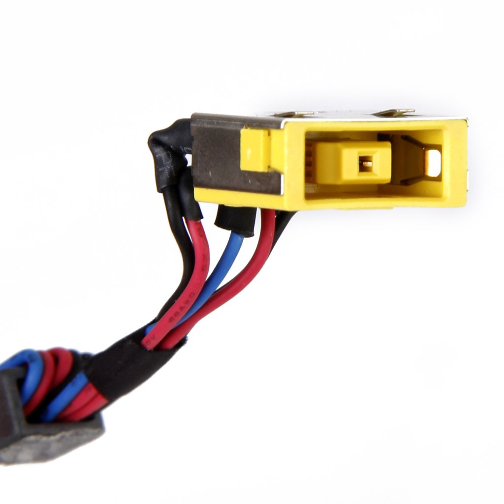 Generic Dc Power Jack Socket Port Connector With Cable For Lenovo International 560 Wiring Diagram Ideapad G500 G500s Multicolour Electronics