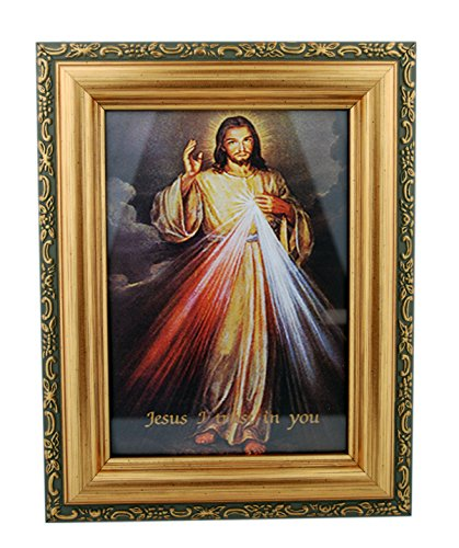 - Beautiful Framed Divine Mercy Print - 7