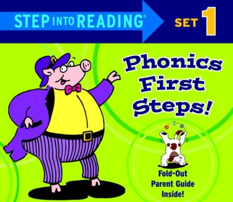 Step into Reading Phonics First Steps, Set 1 (Phonics Boxed Sets)