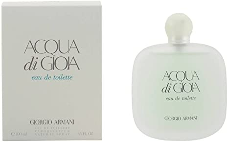Giorgio Armani Acqua di Gioia Woman Eau de Toilette, 1 Pack (100ml): Amazon.es: Belleza