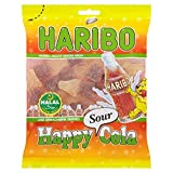 Haribo Halal Happy Cola Sours 100g (Pack of 6)