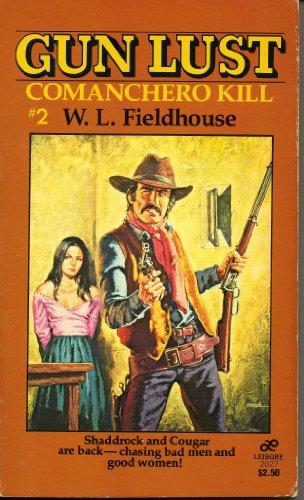 book cover of Comanchero Kill