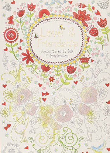 Love & Friendship: Adventures in Ink and Inspiration (Colouring - Seals Daisy