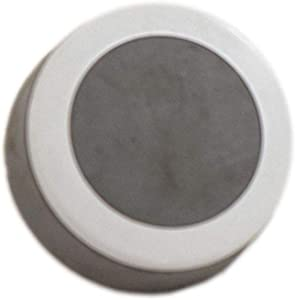 Whirlpool W10110065 Dryer Push-to-Start Knob (Gray and White) Genuine Original Equipment Manufacturer (OEM) Part Gray and White