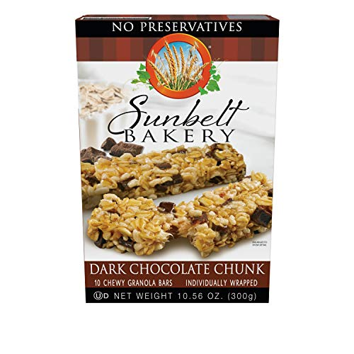 Sunbelt Bakery Dark Chocolate Chunk Chewy Granola Bars, 40 Count
