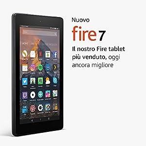 """Nuovo tablet Fire 7, schermo da 7"""", 8 GB, (Nero) - con offerte speciali"""