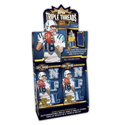 - NFL 2011 Topps Triple Threads (Pack of 2)