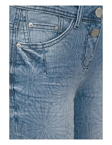 Cecil Wash Blue 10275 Used Mid authentic Slim Blu Jeans Donna wFPSwO