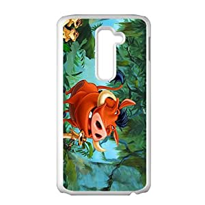 Wish-Store timon y pumba Phone case for LG G2