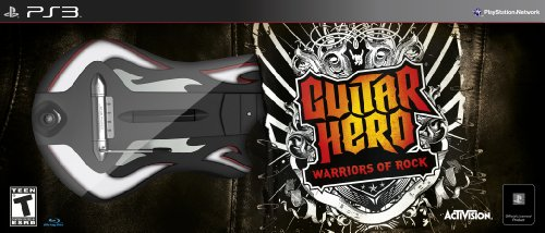 Guitar Hero: Warriors of Rock Guitar Bundle - Playstation 3
