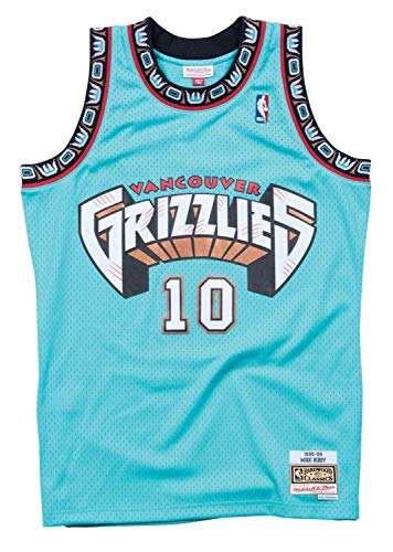 Mitchell & Ness Vancouver Grizzlies Mike Bibby 1998 Road Swingman
