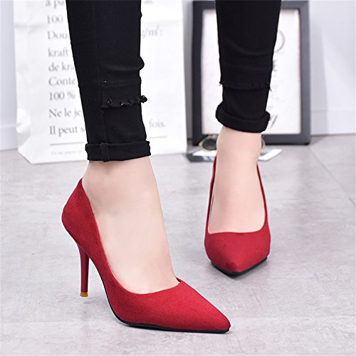 Zapatos rojos Piazza para mujer UAggCU8FD