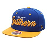 "Southern University Jaguars ""Headliner"" Adjustable Snapback Cap - NCAA Flat Bill Zephyr Baseball Hat"