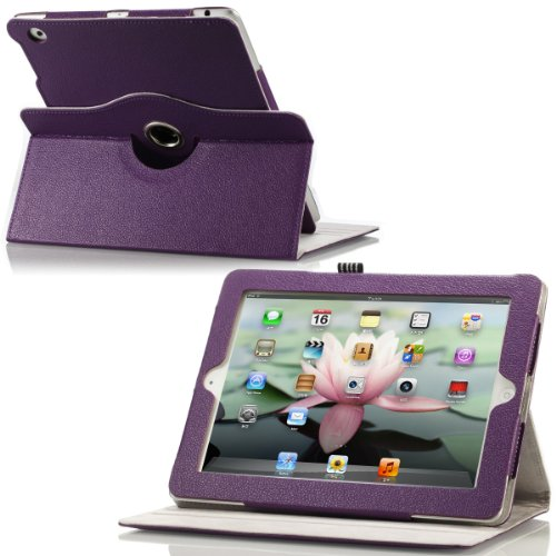 MoKo Rotating Folio Cover Case for The New iPad