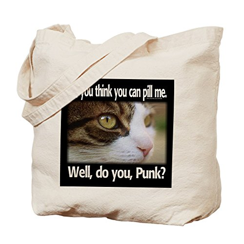 CafePress Me–Píldora, Punk–Gamuza de bolsa de lona bolsa, bolsa de la compra