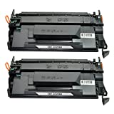 Kingway 2 Pack Replacement Cartridges for CF226X 26X High Yield Black Toner Cartridge for HP LaserJet Pro M402dn M402n M402dw MFP M426fdw M426fdn Printer ( 9,000 Pages)