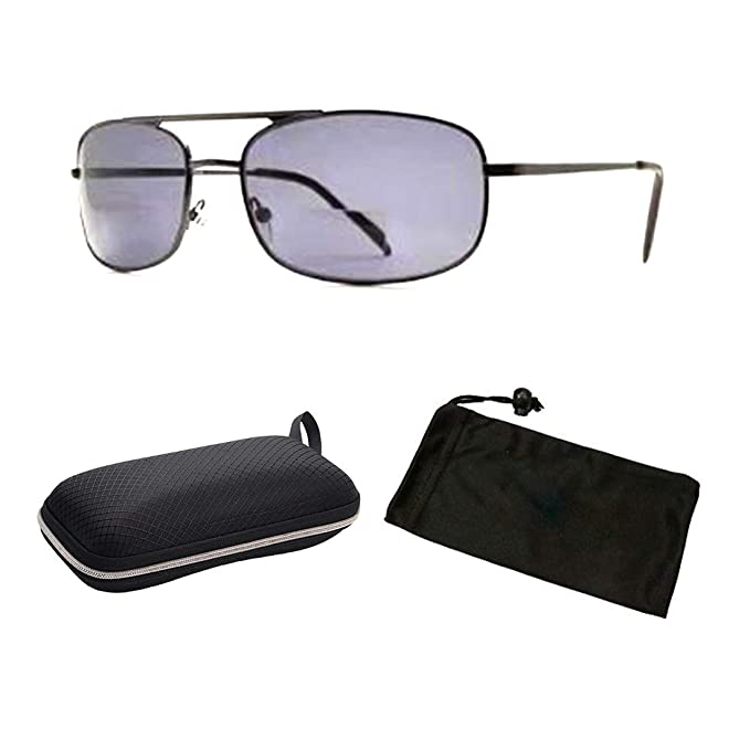 7ffbca211c4 Amazon.com  Unisex Aviator Retro Sun Readers Spring Hinged Reading ...