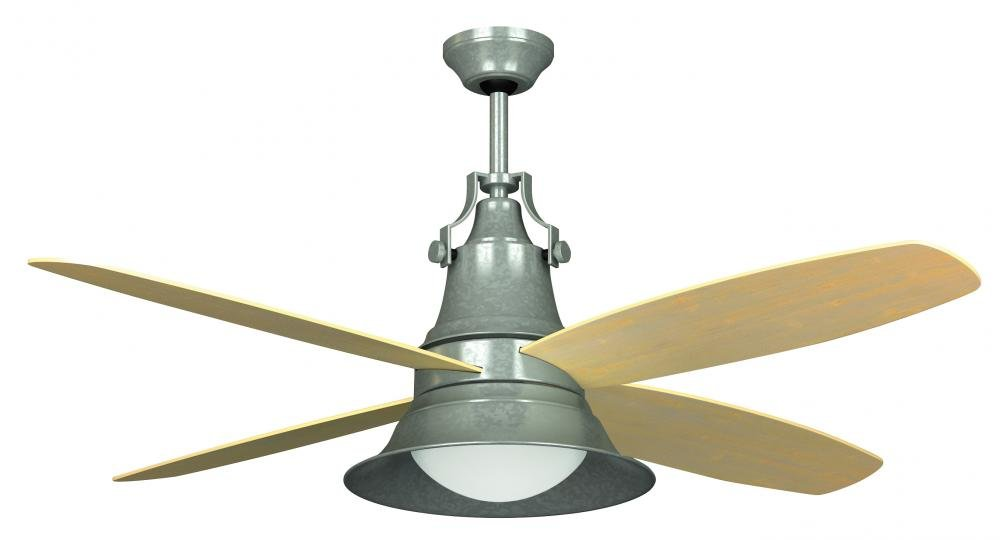Craftmade UNOBG Union Ceiling Fan With Light Span Oiled - Small ceiling fan with light for bathroom