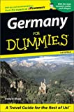 Germany for Dummies, Olson Donald, 0764554786