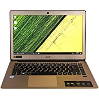 CUK Acer Swift 3 - Gold 14 Thin Laptop (Intel Core i5-7200U, 8GB RAM, 128GB NVMe SSD) - Best Full HD, Windows 10 Notebook Computer