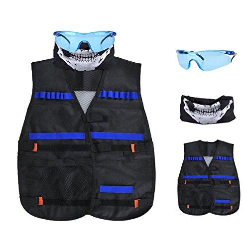2-Pack Foam Gun and Blaster Face Mask / Goggles / Eye Shield (1