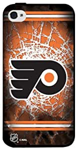 NHL Philadelphia Flyers Iphone 4 or 4s Hard Cover Case