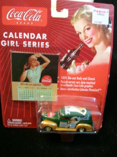 Coca Cola Calendar Girls Series '40 Ford Sedan Delivery #2