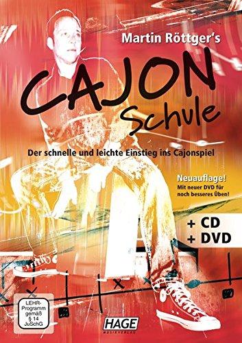 Martin Röttger's Cajon Schule + CD + DVD: Der schnelle und leichte Einstieg ins Cajonspiel