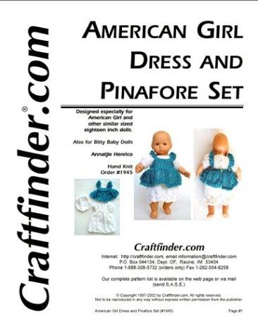 Dress and Pinafore Set Pattern