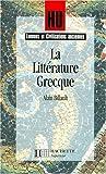 La Littérature grecque