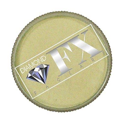 Diamond FX Metallic Face Paint - White (30 gm) -